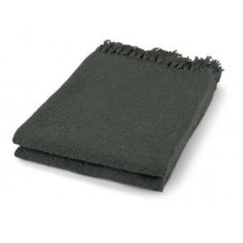 Plaid Mindy 130x180 cm donker grijs