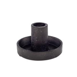 Kandelaar zwart metal L