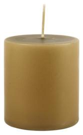 Pillar candle olive