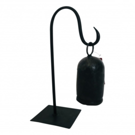 Bell iron on stand