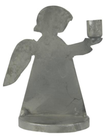 Candle holder f/taper candle Angel