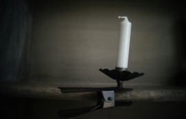 Metal clip candle