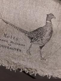 Shabby doek fazant