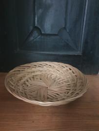 Bamboe schaal 24 cm.