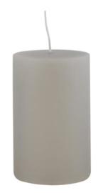 Pillar candle grey