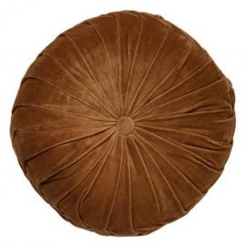 Sierkussen Kaja 40 cm Tobacco brown