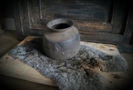 Oude klei pot