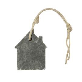 Hanger huis 62 gram in grijs parfum groene thee
