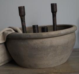 Oude houten schaal uit China