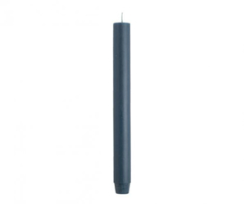 Dinerkaarsen 2,6×30 cm Petrol blue