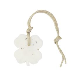 Hanger klavertje vier 65 gram met ghassoul mille fleur