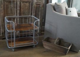 Oude prachtige trolley