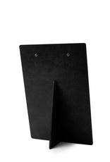 Houten klembord A5/A6 huisje zwart