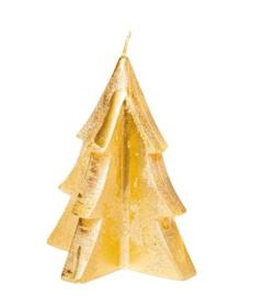 Kerstboom Kaars L Goud