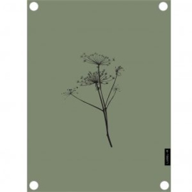 Tuinposter berenklauw olijfgroen