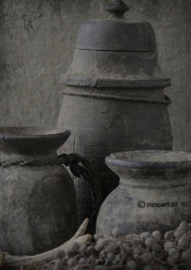 Kaart drie Grijze potten