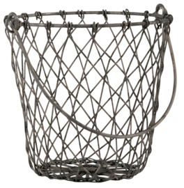 Basket wire with handle