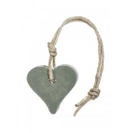 Hanger hart 55 gram (leger) groen parfum olive