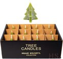Tree candle s green