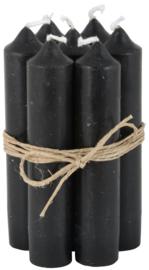 Short dinner candle black