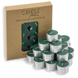 Candle Junkie waxines groen