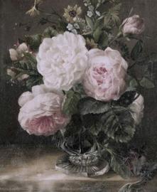 Landelijke kaart rozen