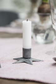 Candle holder star incl. candle