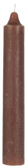 Rustic candle rustic brown