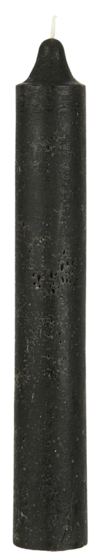 Rustic candle black