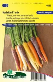 Zomerwortel 'Harlekin mix', Daucus carota sativus