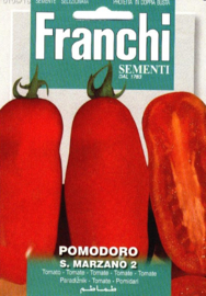 Roma tomaat 'San Marzano 2', Solanum lycopersicon