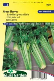 Bleekselderij bladselderij 'Green Sleeves', Apium graveolens var dulce