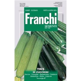 Courgette tris di zucchini mix, Cucurbita pepo