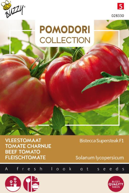 Tomaat 'Bistecca Supersteak F1', Solanum lycopersicum