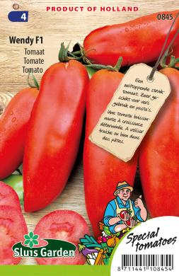 Roma tomaat 'Wendy F1', Solanum lycopersicum