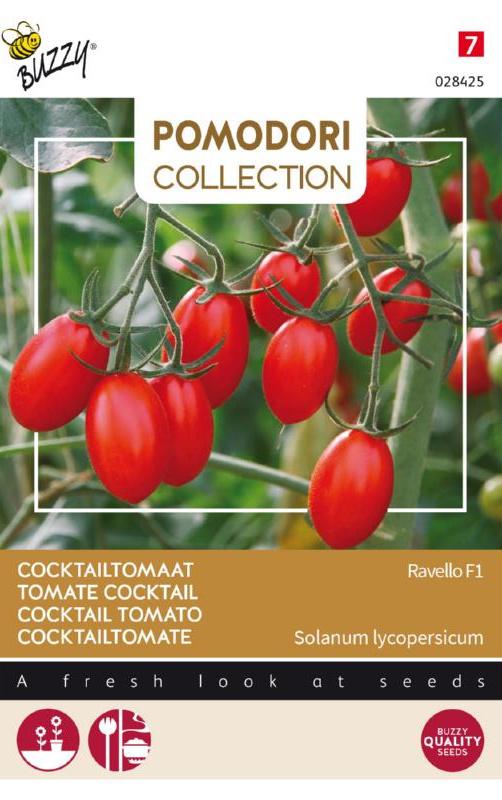 Cocktailtomaat 'Ravello F1', Solanum lycopersicum