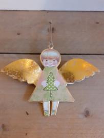 Imbarro engel met kerstboom