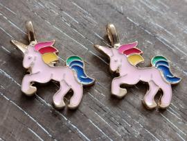 Unicorns goud/2 stuks