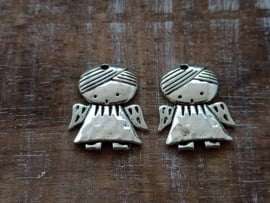 Engel zilver/3 stuks