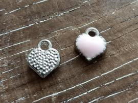 Zilver-roze/per 5