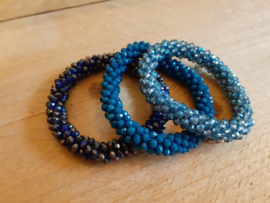 Biba armbanden blauw