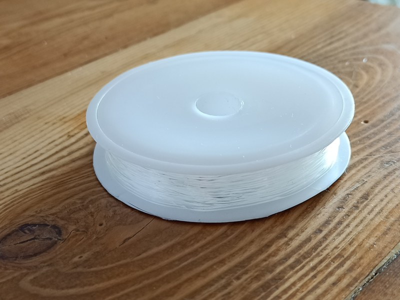 Transparant elastiek 0.7mm