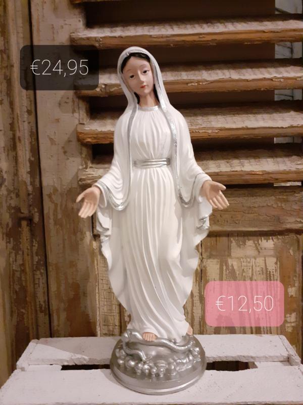 Maria wit-zilver