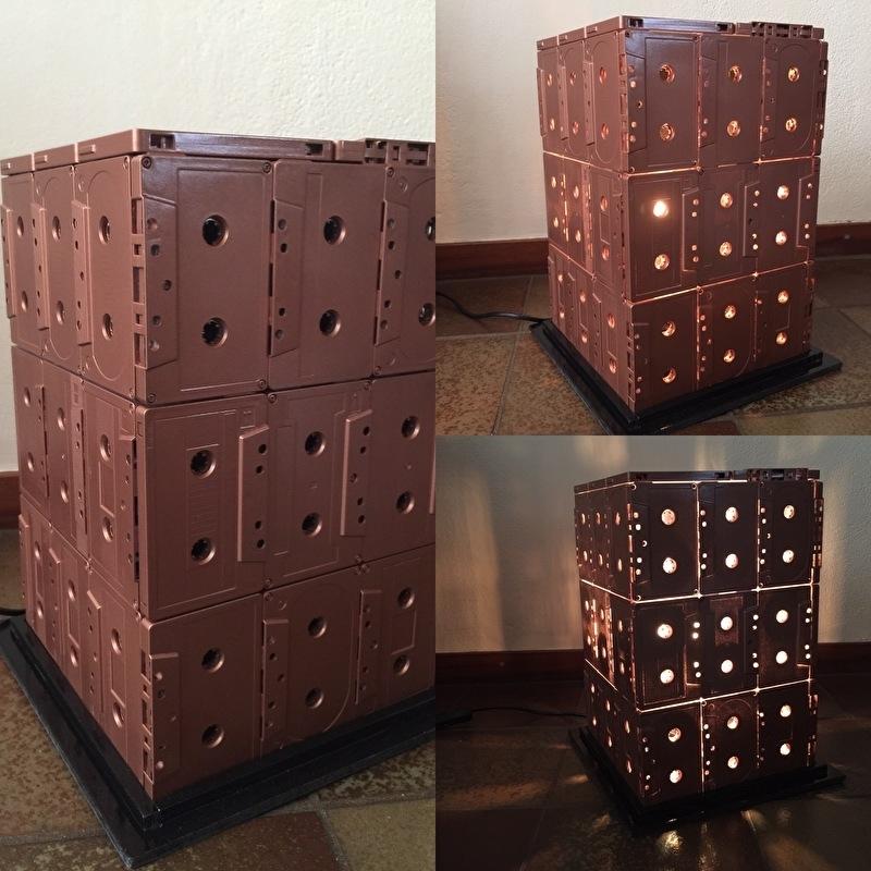 Cassette Vloerlamp