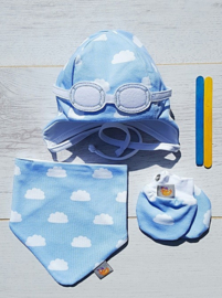 Newborn Bleu set
