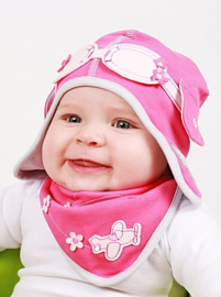 Dragenfly Pink set 6-9 maanden