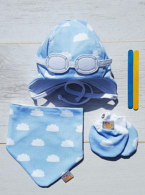 Newborn Bleu set