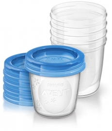 Phillips Avent Bewaarbekers 180ml (set van 5)