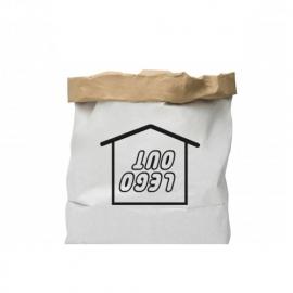 Papieren Opbergzak 'Lego Inn / Lego Out' - Don't Tell Mum