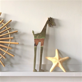 Giraffe recycled hout - One World of Interiors